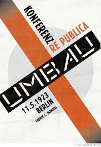 re:publica 1923: Umbau