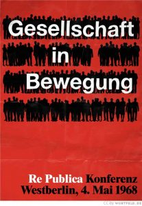 re:publica 1968: Gesellschaft in Bewegung