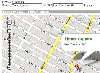 Abendblatt-Stadtplan zeigt New York