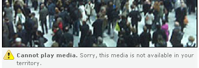 Cannot play media. Sorry, this media is not available in your territory.