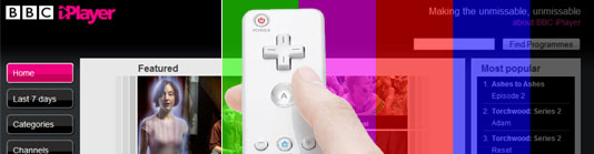 iPlayer und Wii Remote