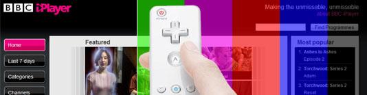 iPlayer und Wii Remote