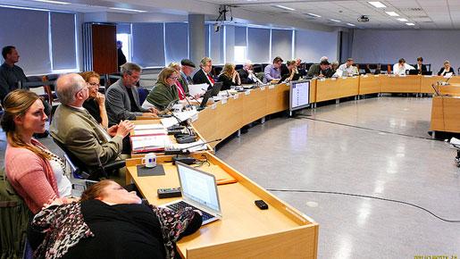 Sitzung des isländischen Verfassungsrats