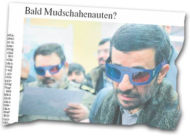 FAZ-Überschrift: Bald Mudschahenauten?