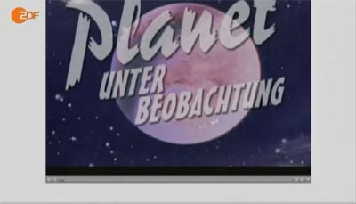 Planet unter Beobachtung beim ZDF