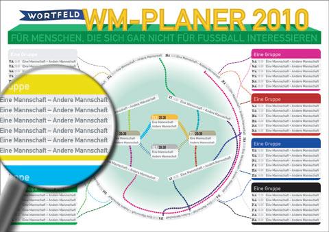 Wortfeld WM-Planer für Menschen, die sich gar nicht für Fußball interessieren
